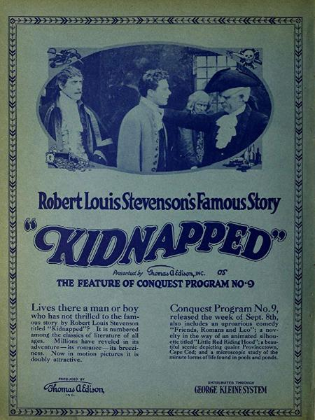 Kidnapped (film 1917 Crosland)